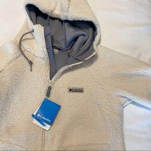 Long sherpa columbia coat